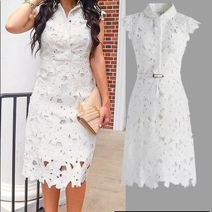 Chicwish * Brand New Full Flower Cut Out Midi